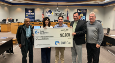 One Gas Foundation funding to fund EPISD teacher grants